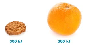 snack smarter orange v biscuit